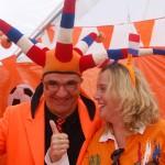 Oranjefeest Hagestein met Agnes